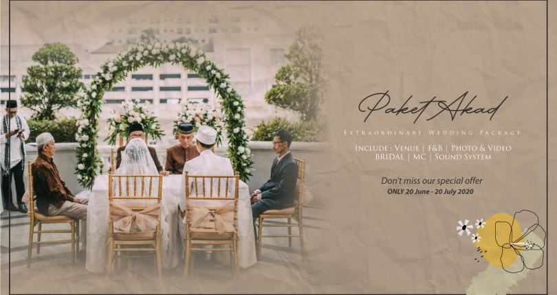 Intimate Wedding Package Ceremony 2021/2022