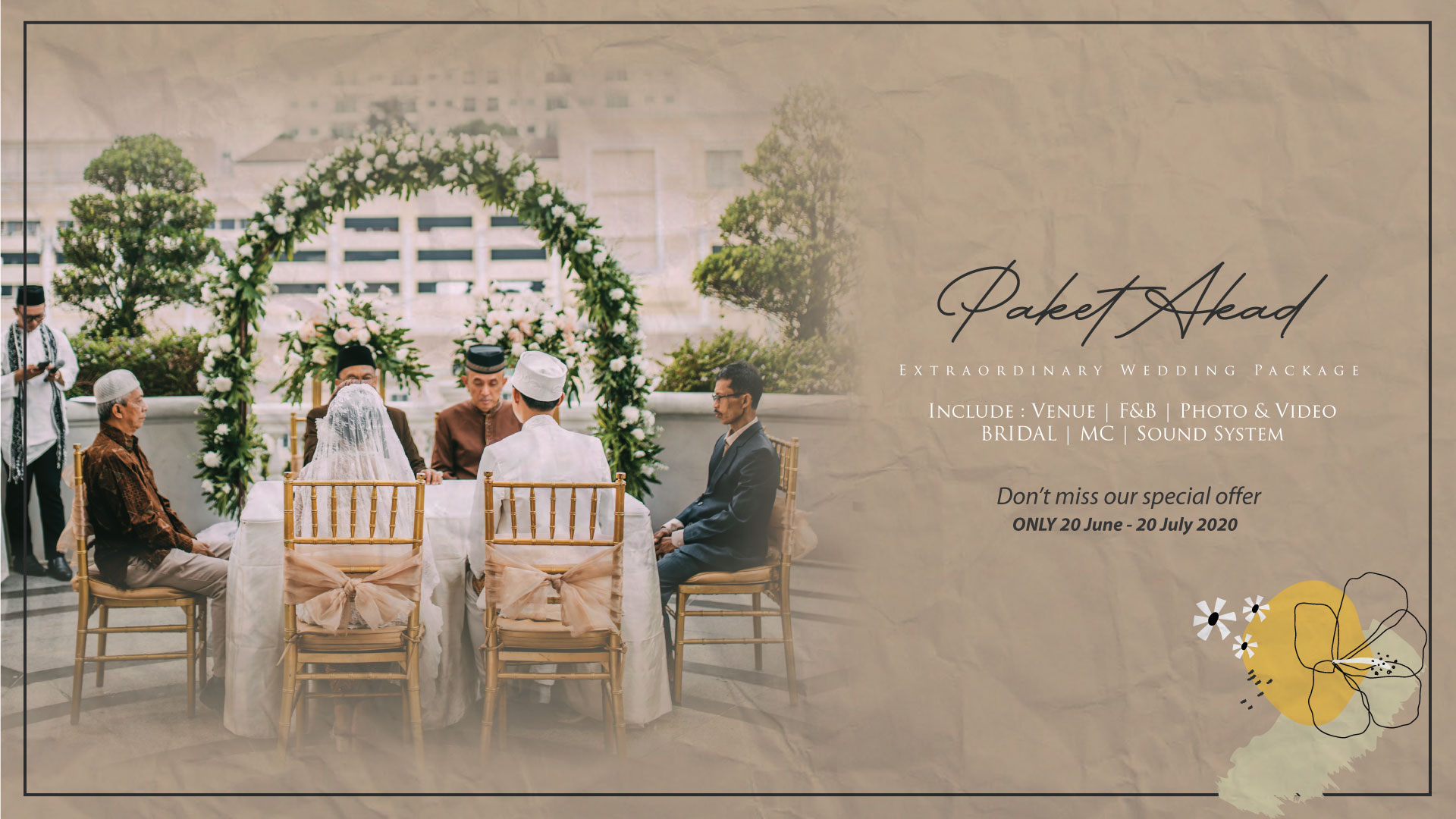 Paket Akad | Extraordinary Wedding Package