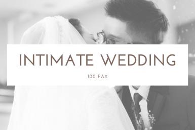 JDV Wedding Planner Intimate Wedding 100 pax