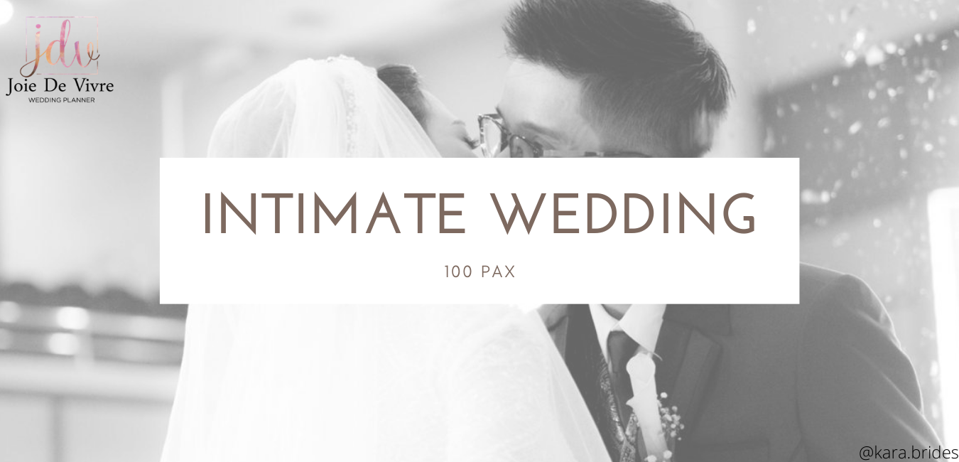 Intimate Wedding Package 100 pax